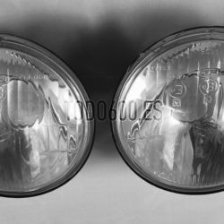 Óptica de faro 600 N y D primera serie. Para modelos con doble cerquillo de faro