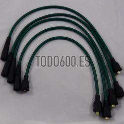 Juego cables de bujias