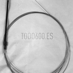 Cable acelerador con funda